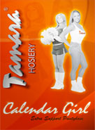 Tamara Hooters Hosiery Package
