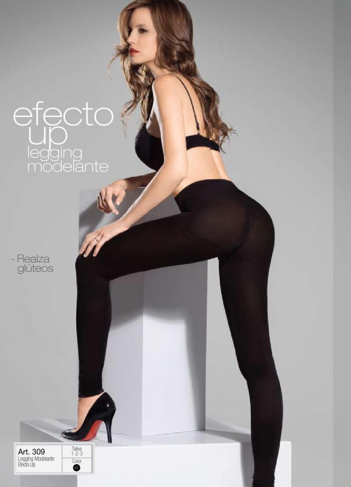 Aretha Mujer Effcto Up Legging Modelante  Winter 2014 | Pantyhose Library