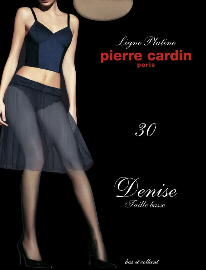 Pierre Cardin Denise Taille Basse 30 Denier Thickness, Ligue Platine | Pantyhose Library