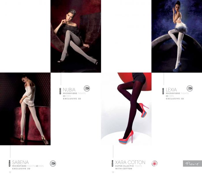 Fiore Fiore-aw1415-9  AW1415 | Pantyhose Library