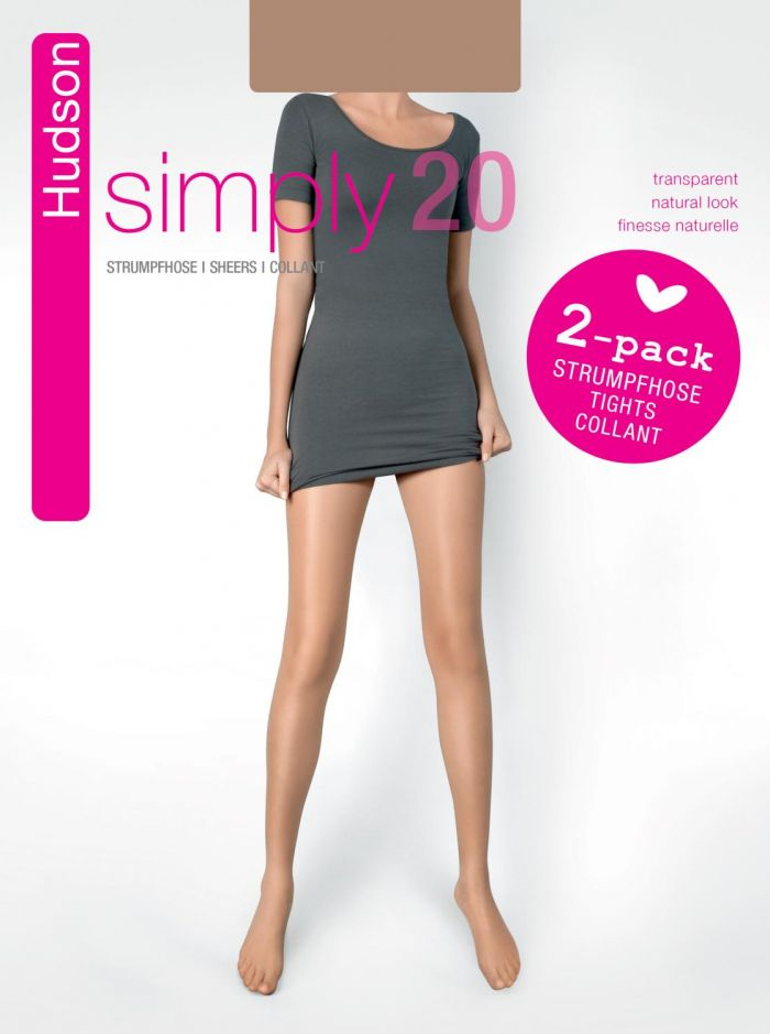 Hudson Hudson-simply-2 20 Denier Thickness, Simply | Pantyhose Library
