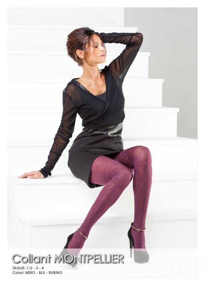 Bellissima Collant Montpellier  AI 2014 | Pantyhose Library