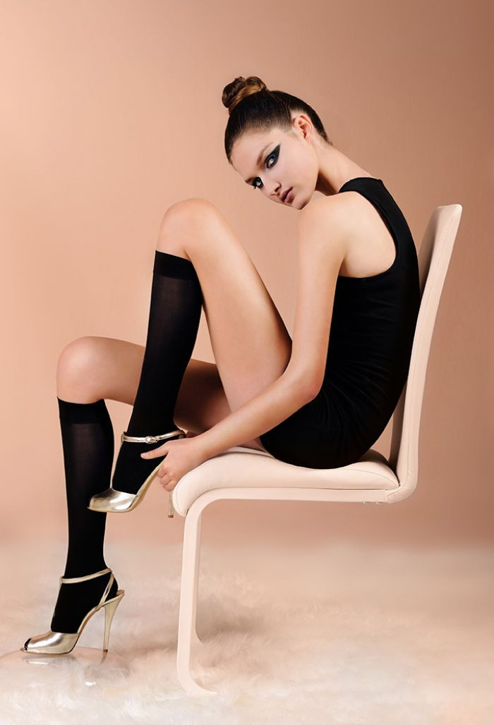 Laura Biagiotti Top 60 Knee Highs 60 Denier Thickness, Calze Collant | Pantyhose Library