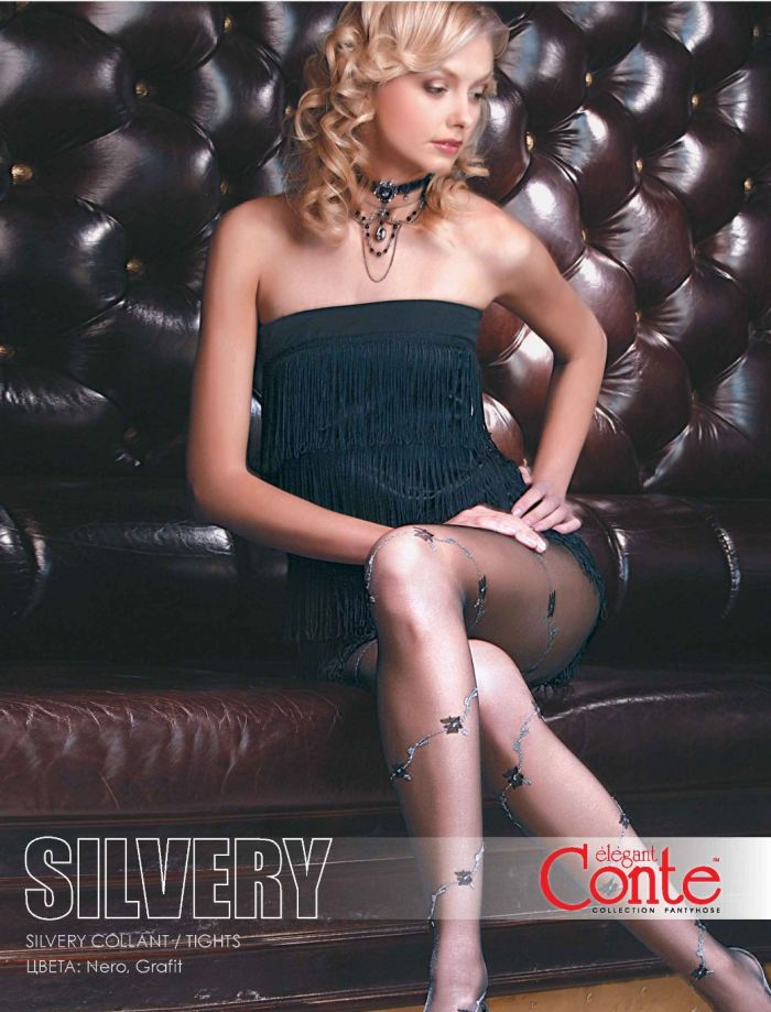 Conte Silvery Tights  Fantasy 2012 2013 | Pantyhose Library