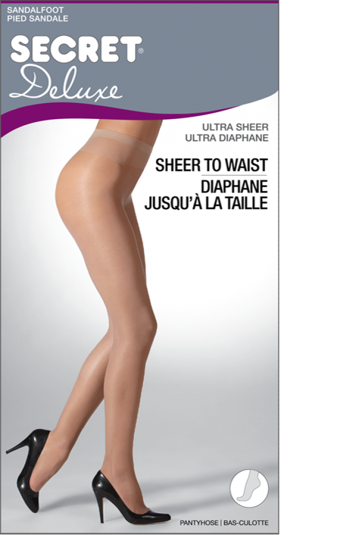 Secret Diaphane Jusqua La Taille 15 Denier Thickness, Tights | Pantyhose Library
