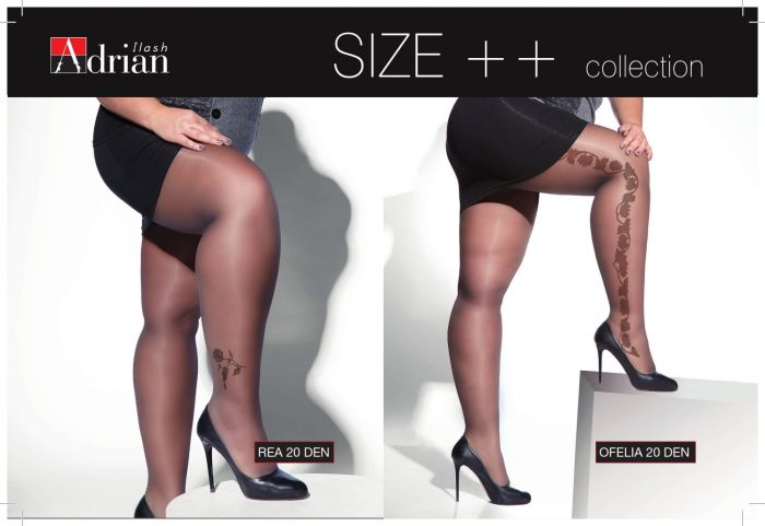 Adrian Rea 20 Den | Ofelia 20 Den  Plus Size Collection | Pantyhose Library