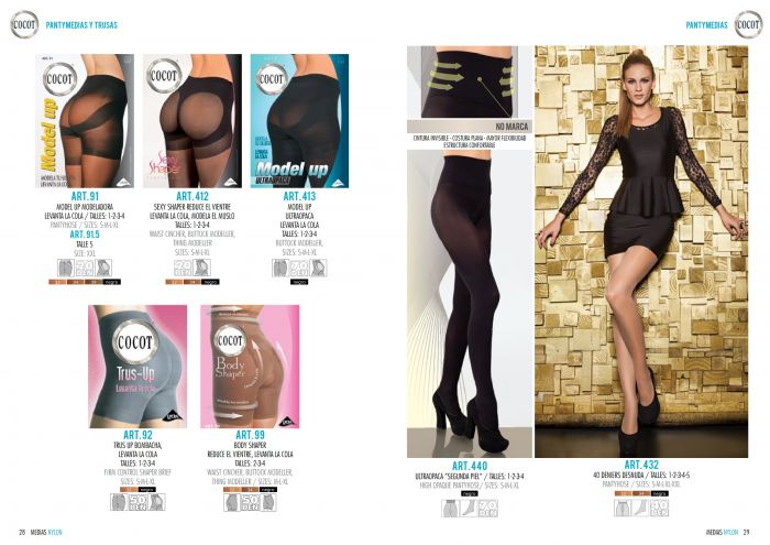Cocot Cocot-collection-2016-15  Collection 2016 | Pantyhose Library