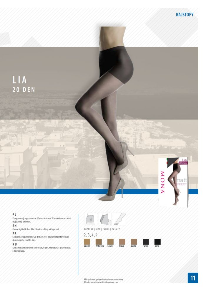 Mona Mona-classic-tights-2016-13  Classic Tights 2016 | Pantyhose Library