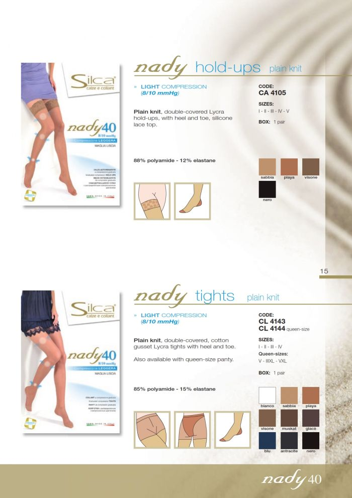 Silca Silca-nady-hostess-confort-14  Nady Hostess Confort | Pantyhose Library