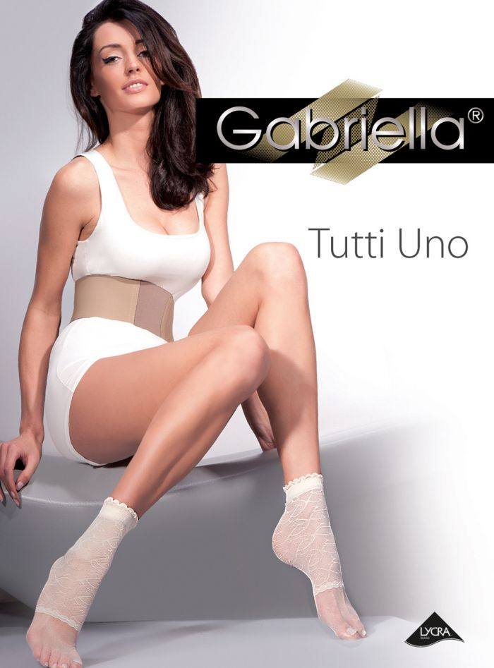 Gabriella Skarpetki Tutti Uno  Fantasia Socks Knee Highs Collection | Pantyhose Library