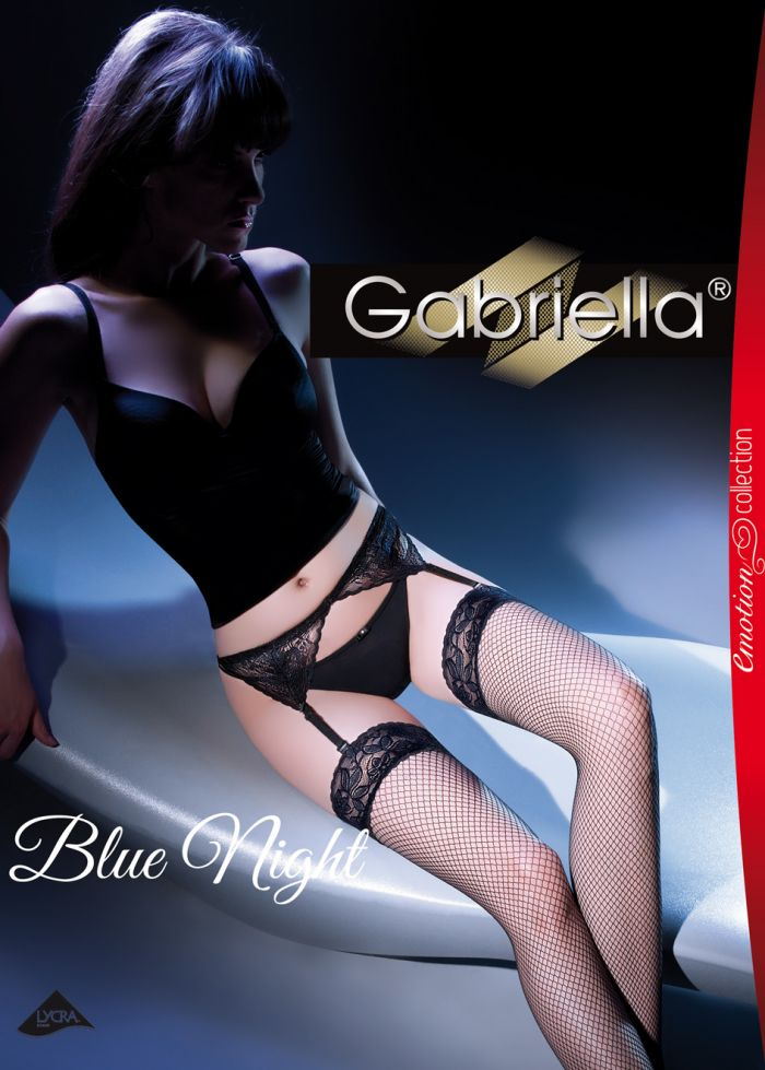 Gabriella Emotion Blue Night  Emotion Calze Packs 2016 | Pantyhose Library
