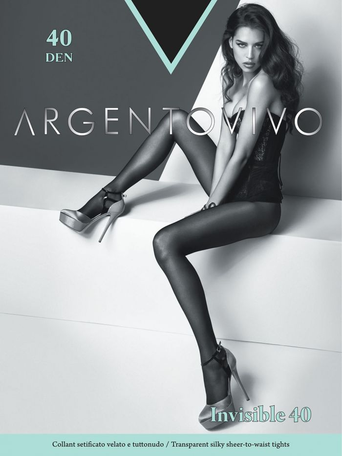 Argentovivo Classic Tights-invisible 40  Hosiery Catalog | Pantyhose Library