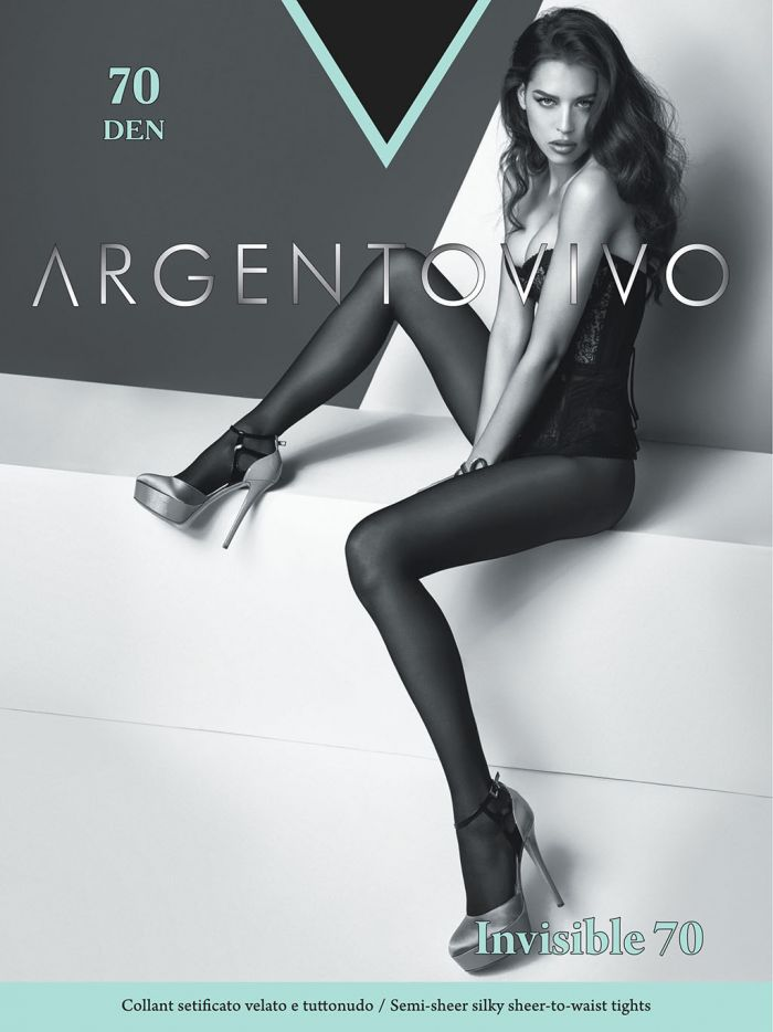 Argentovivo Classic Tights-invisible 70  Hosiery Catalog | Pantyhose Library