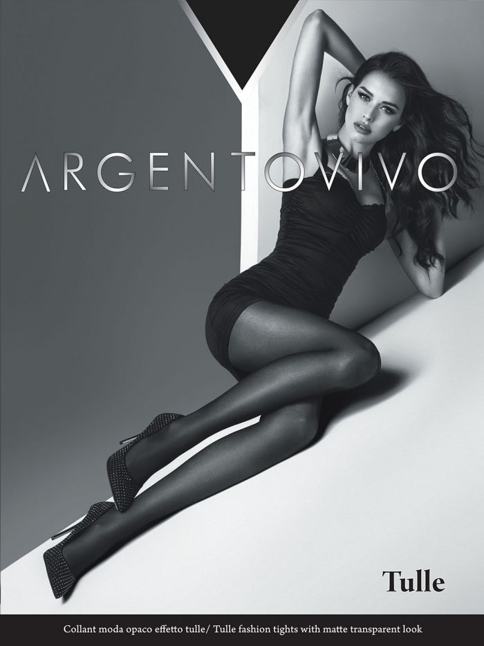 Argentovivo Fishnet Tights - Tulle  Hosiery Catalog | Pantyhose Library