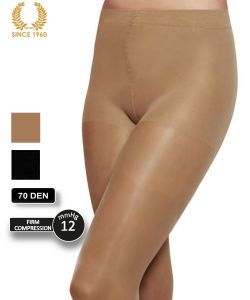 firm support tights factor 10 - 70 den detail