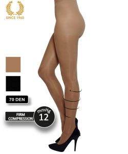 firm support tights factor 10 - 70 den