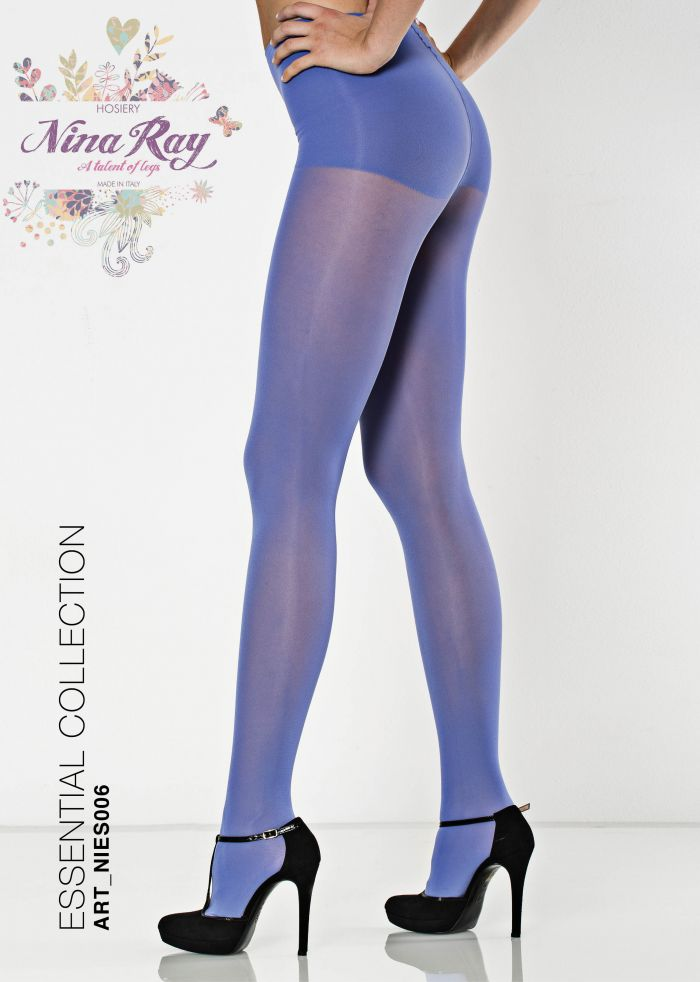 Nina Ray Microfiber Comfort Panty Tights - 50 Den  Essential Hosiery | Pantyhose Library
