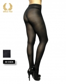 glitter tights with sparkly spots allover 40 den black back