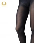 glitter tights with sparkly spots allover 40 den black detail