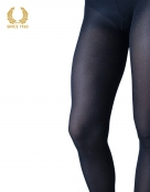 glitter tights with sparkly spots allover 40 den blue detail