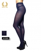 glitter tights with sparkly spots allover 40 den blue