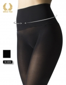 opaque seamless tights -50 den back front detail
