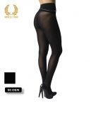 opaque seamless tights -50 den back