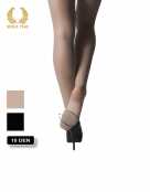 high heels tights with cushion - 10 den