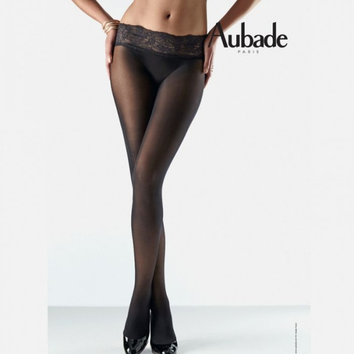 Aubade Lace-belt-tights  Hosiery Collection 2017 | Pantyhose Library