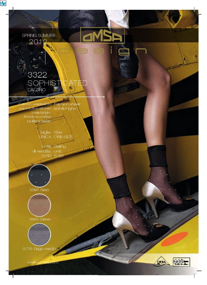 Omsa Omsa-ss-2012-16  SS 2012 | Pantyhose Library