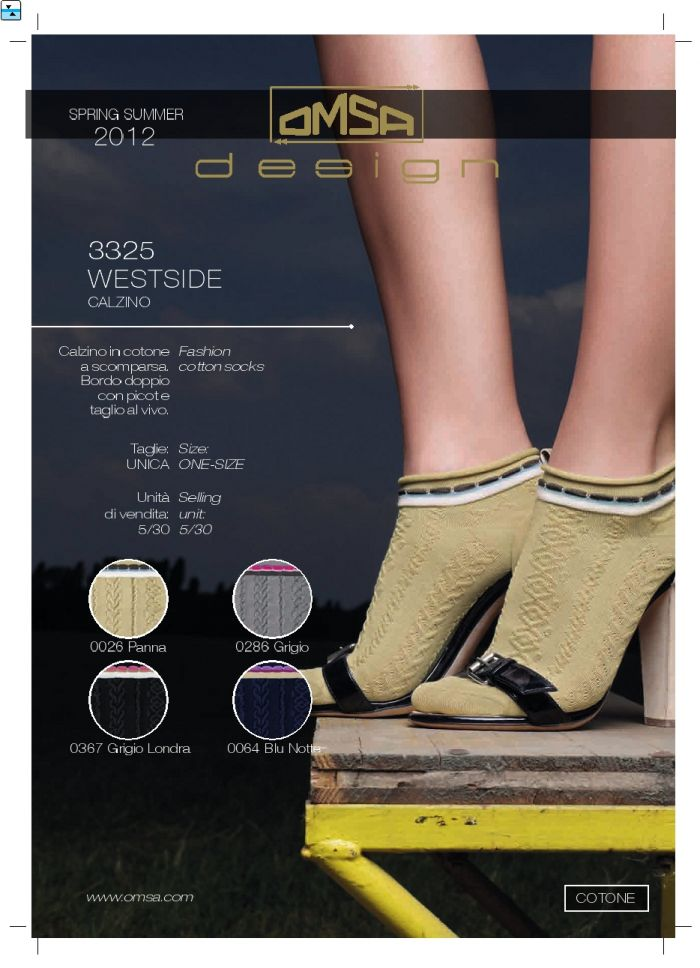 Omsa Omsa-ss-2012-19  SS 2012 | Pantyhose Library