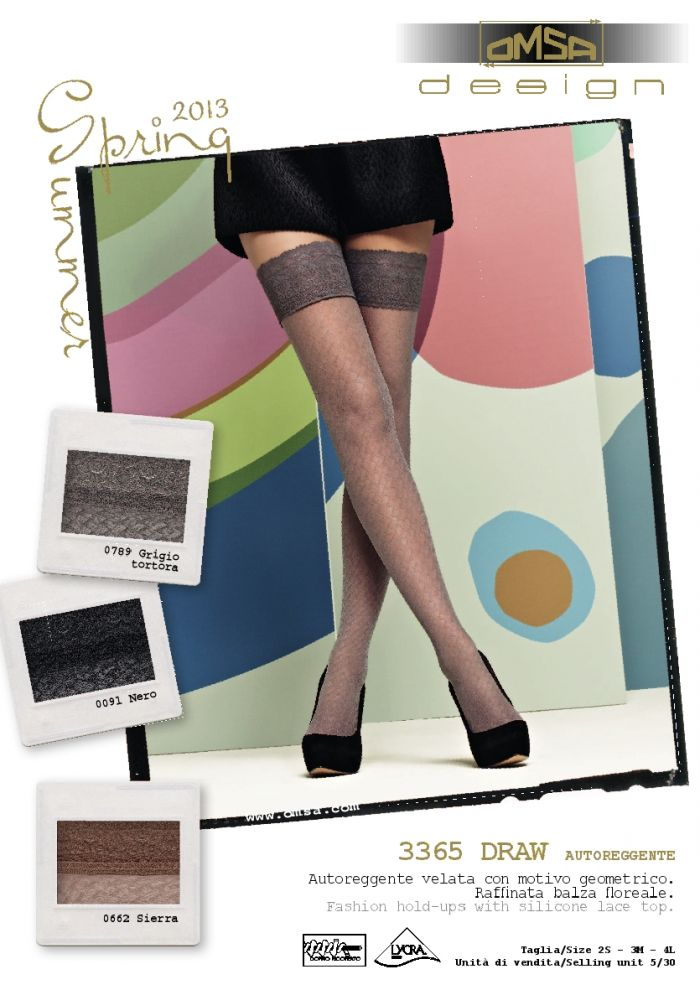Omsa Omsa-ss-2013-8  SS 2013 | Pantyhose Library