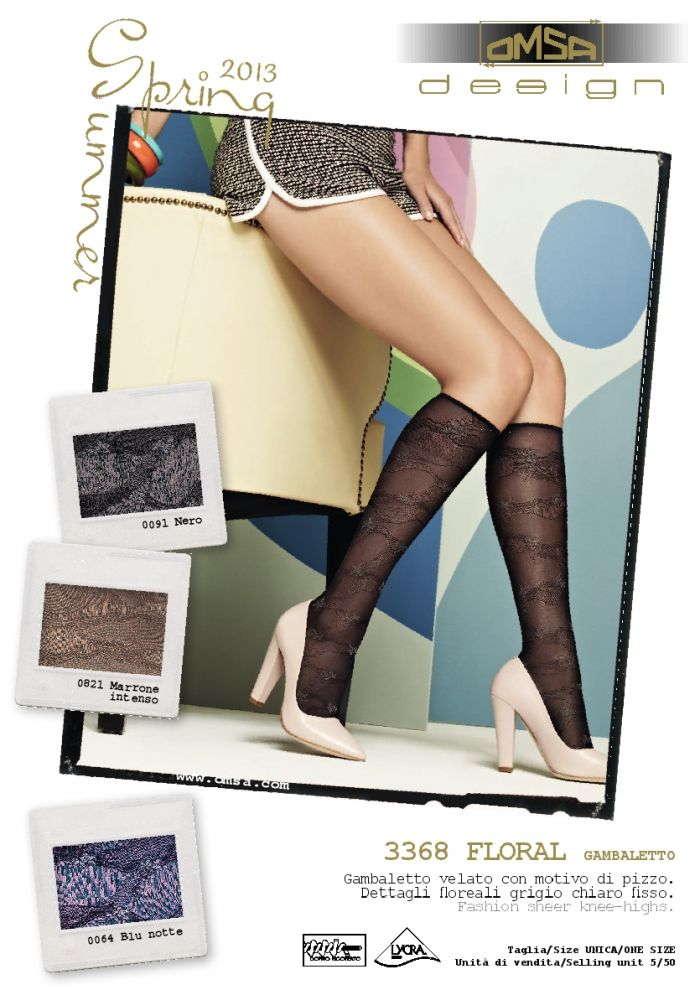Omsa Omsa-ss-2013-11  SS 2013 | Pantyhose Library