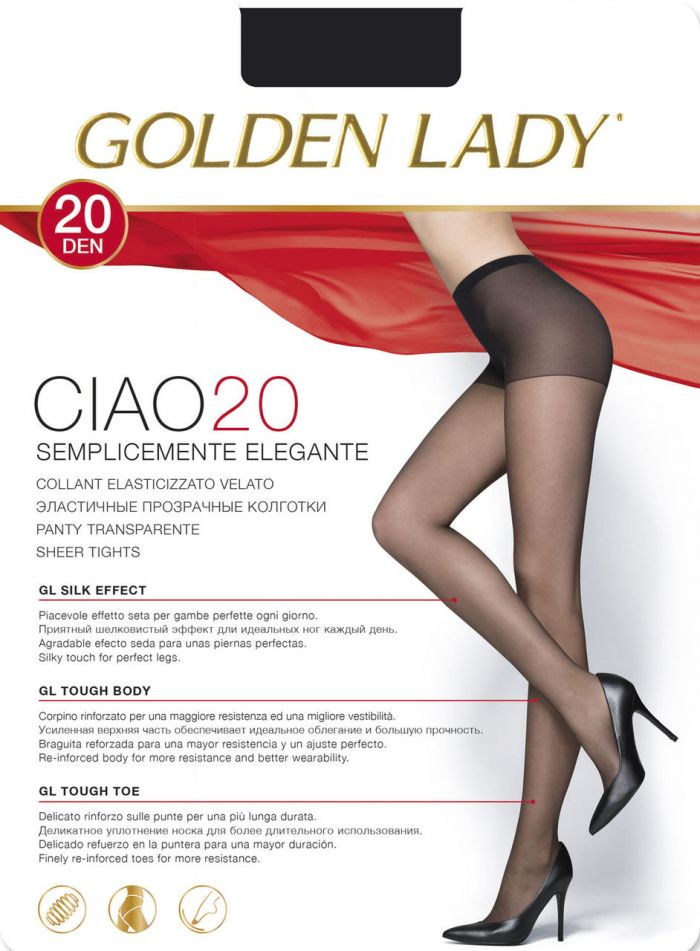 Golden Lady Ciao_20  Hosiery Packs 2017 | Pantyhose Library