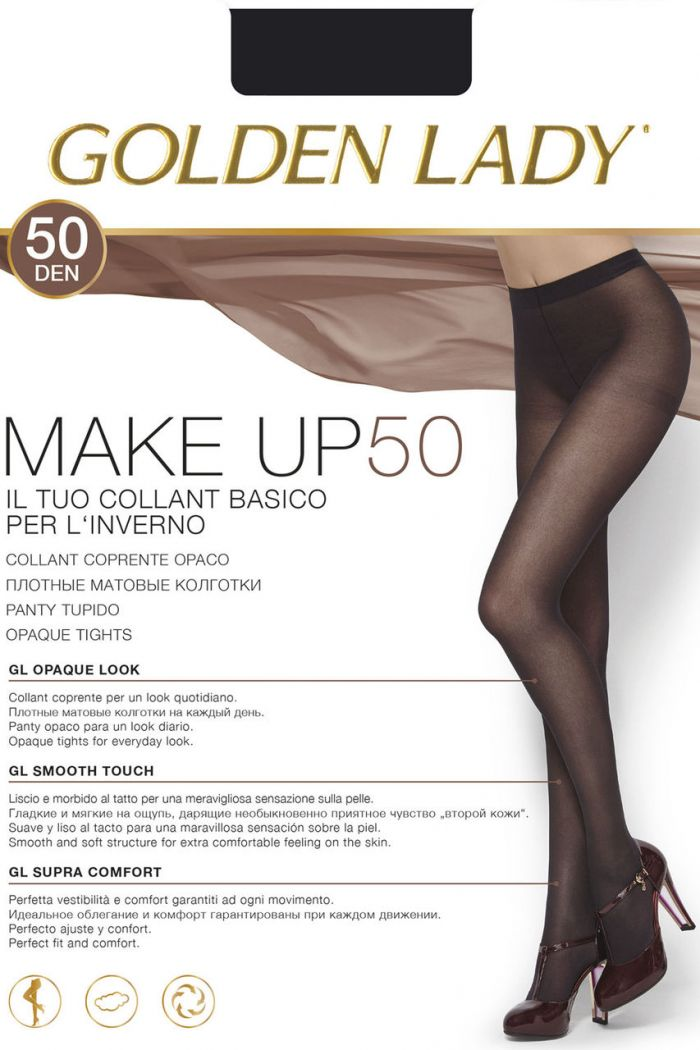 Golden Lady Make_up_50  Hosiery Packs 2017 | Pantyhose Library