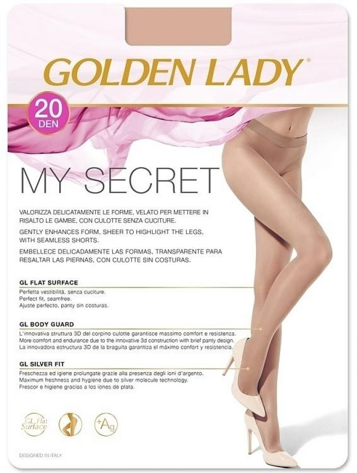 Golden Lady My_secret_20  Hosiery Packs 2017 | Pantyhose Library