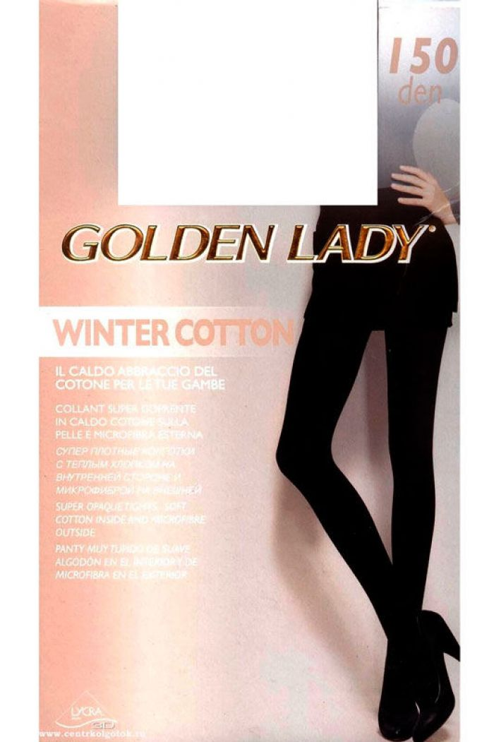Golden Lady Winter_cotton_150  Hosiery Packs 2017 | Pantyhose Library