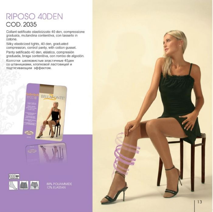 Bellafonte Bellafonte-hosiery-collection-2013-13  Hosiery Collection 2013 | Pantyhose Library