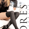 Seniorita-lores - Knee-over-knee-and-socks