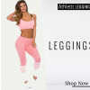 Bombshell - Womens-athletic-leggings