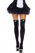Cameo-And-Satin-Bow-Opaque-Thigh-Hi