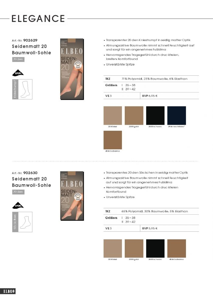 Elbeo Elbeo-trend-catalog-fw2018.19-22  Trend Catalog FW2018.19 | Pantyhose Library