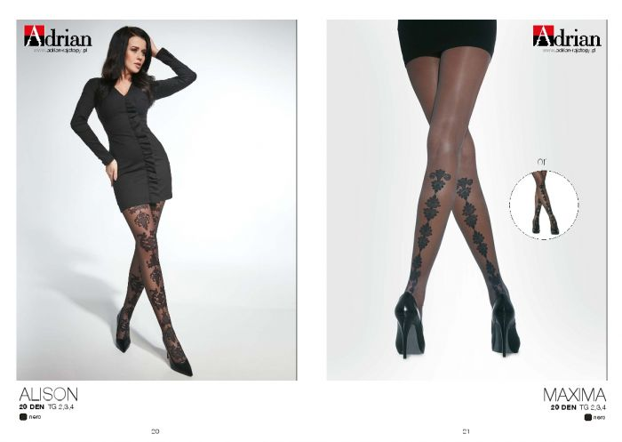 Adrian Adrian-ss-2019-11  SS 2019 | Pantyhose Library