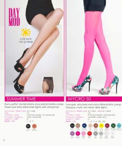 Day Mod - Womans Fashion Hosiery 2018