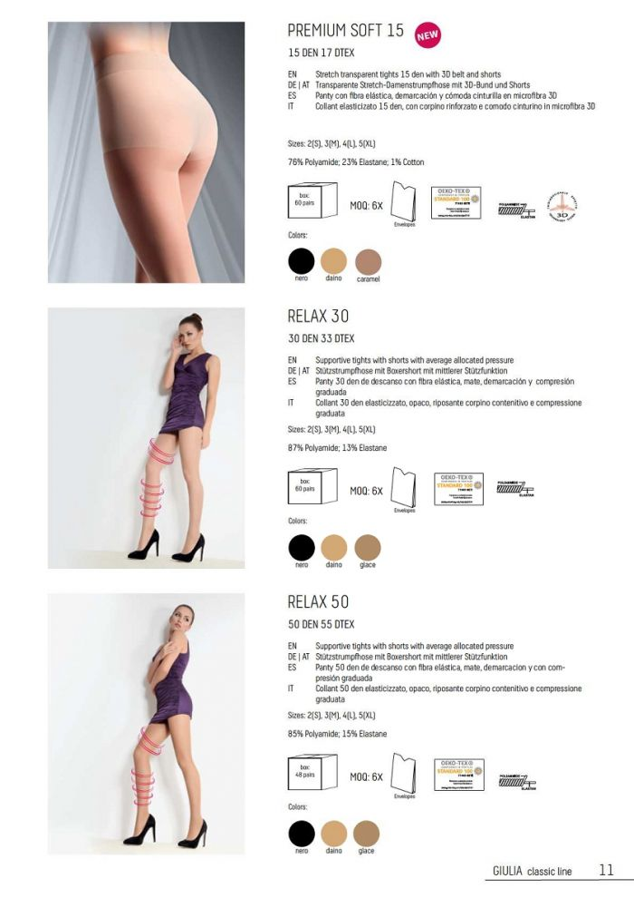 Giulia Giulia-classic-collection-aw2019.2020-11  Classic Collection AW2019.2020 | Pantyhose Library